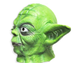 Yoda Latex Mask