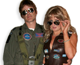 Top Gun Couple