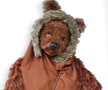Ewok Hood with Mask
