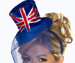 Union Jack Mini Top Hat