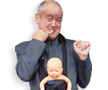 Dr Evil with Mini Me