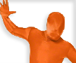 Morph Suit Orange
