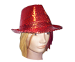 Red Glam Fedora