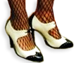 Flapper Gangster Heels