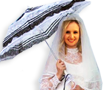 Bride with Parasol
