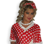 Red White Polka Dot 50s